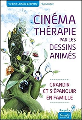 livre cinematherapie par les dessins animes